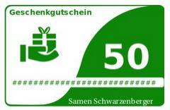 Online Gutschein Samen Schwarzenberger